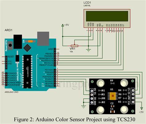 arduino color sensor arduino color sensor project using tcs230 engineering