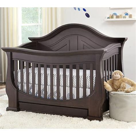 eco chic baby dorchester 4 in 1 convertible crib slate