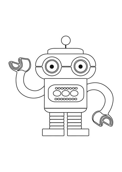 Dibujo del robot Bik para colorear