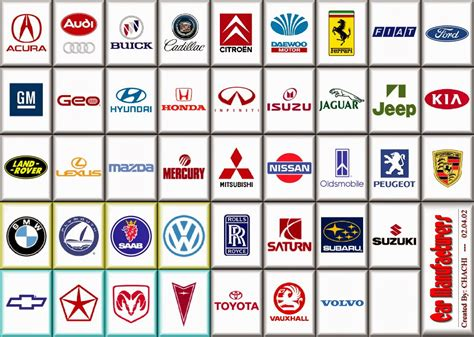 car logos and names list car logos and names list company car logos