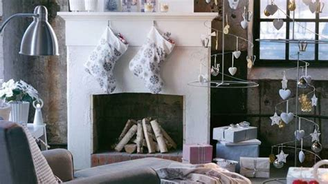 how to decorate your living room for christmas stylish eve