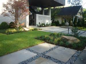 modern front yard landscaping zen inspired front yard