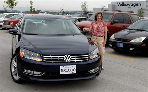 Are Kia Cars American Made Made In America 100 000th Volkswagen Passat Built In