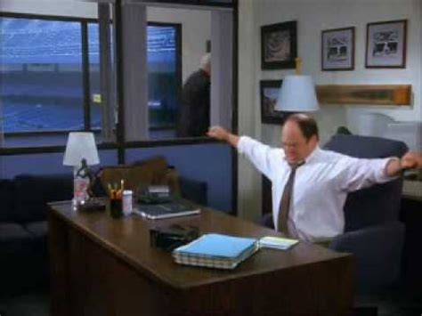 george costanza desk bed seinfeld george sleeping under his desk youtube