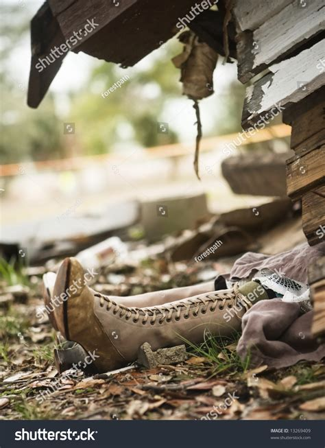 wicked witch shoes under house wicked witch west from wizard oz stock photo 13269409 shutterstock