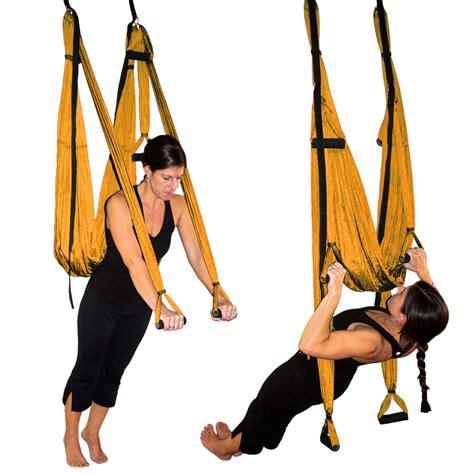 aerial yoga swing for sale golden orange aerial yoga inversion swing yoga for back