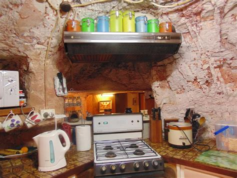 Cupboards Kitchen faye s underground house in coober pedy coober pedy