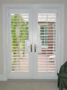 Plantation Shutters For Patio Doors Plantation Shutters 3 5 In Louver With Lever Door Cutouts Jpg Door Applications