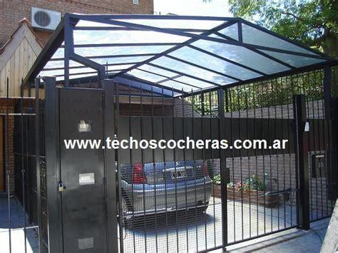cobertizo metalico para coches nortealum techos de policarbonato en olivos tel 233 fono y