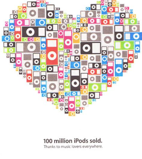 100 Million Ipods Sold by 100 Million Ipods And The Explosive Growth Of Itunes