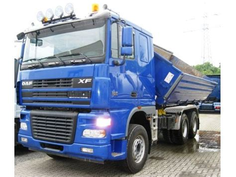 Comfort Cab by Daf Xf95 480 Comfort Cab Tipper From Germany For Sale