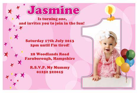 Birthday Cards How To Make - 1st birthday party invitation cards iidaemilia com