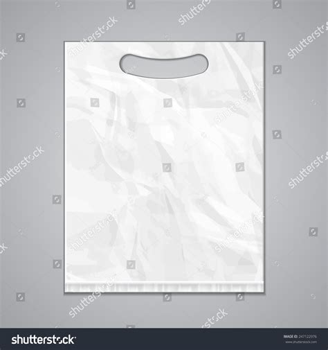 grayscale template disposable plastic bag package grayscale template mock up