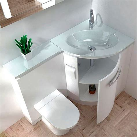 bathroom counter and sink combo 32 stylish toilet sink combos for small bathrooms digsdigs