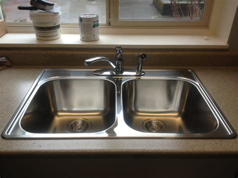 kitchen sink installation callaway plumbing and drains ltd
