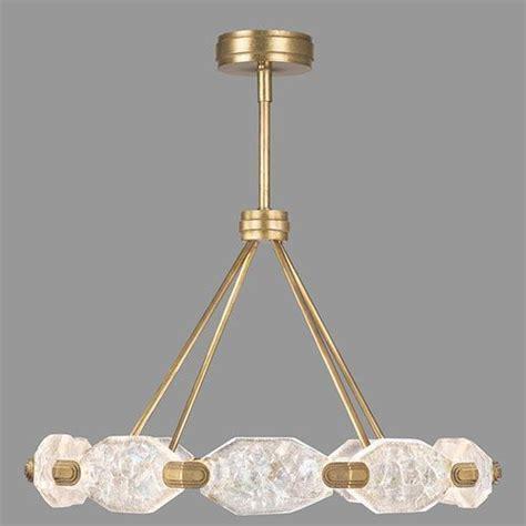 allison paladino gold leaf  light led   pendant