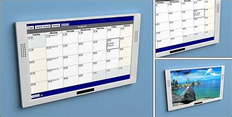 Electronic Wall Calendar Digital Wall Calendar Pictures To Pin On Pinsdaddy