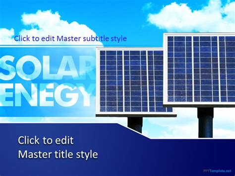 energy powerpoint templates free energy ppt template