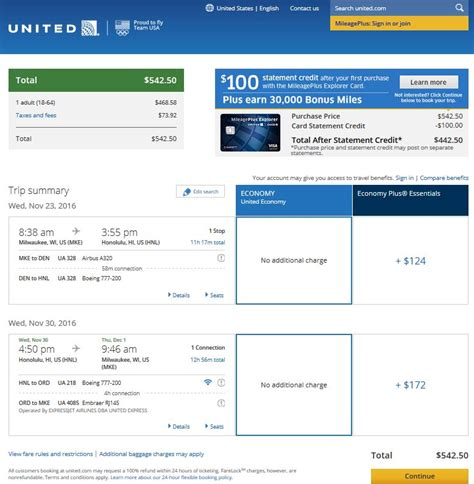united airlines booking 543 578 honolulu from 3 midwest cities r t fly