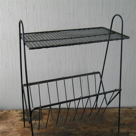 Wire Magazine Racks For Sale by Wire Table Mid Century Modern Metal Wire Stand Table