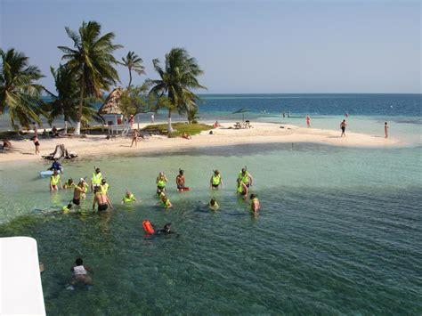 catamaran snorkeling belize shore excursion spectacular snorkel at randevouz caye