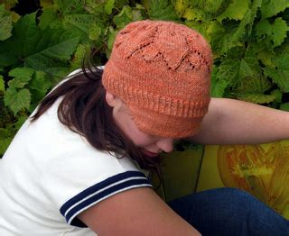 local knit ravelry tournesol flowering lace cap pattern by ash kearns