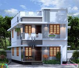 1300 Square Feet To Meters 1300 Square Feet 4 Bedroom House Plan Kerala Home