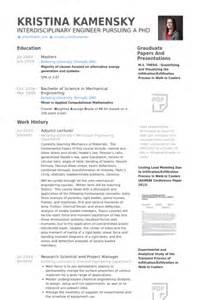 Resume Format For Lecturer by Adjunct Lecturer Resume Sles Visualcv Resume Sles Database