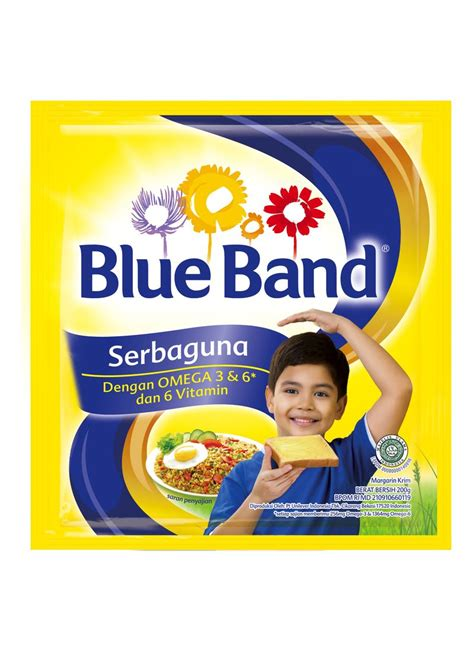 Blue Band Sachet blue band cake cookie blue band serbaguna margarin 200g multi pack 20c0c1ac