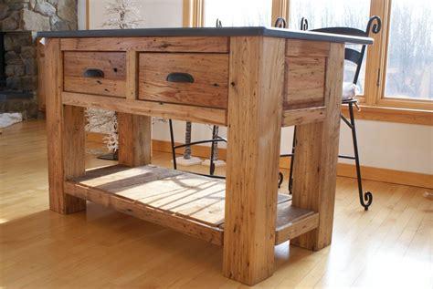 wormy chestnut kitchen island finewoodworking
