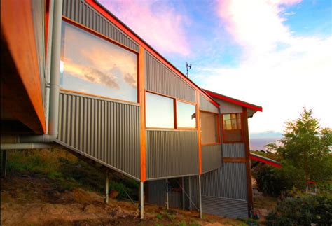 tin sided houses 12 metal clad contemporary homes design milk