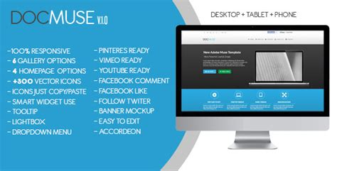 muse themes facebook preview docmuse multipurpose muse template by zacomic themeforest