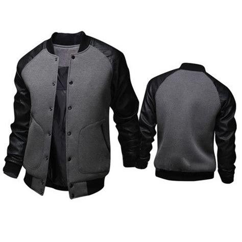 design jaket baseball mens casual varsity jacket mens casual jackets