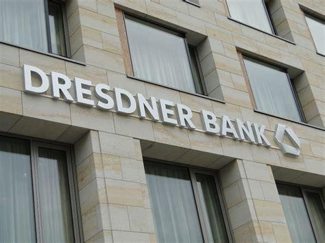 dresdner bank dresden altmarkt einzige dresdner bank filiale in dresden