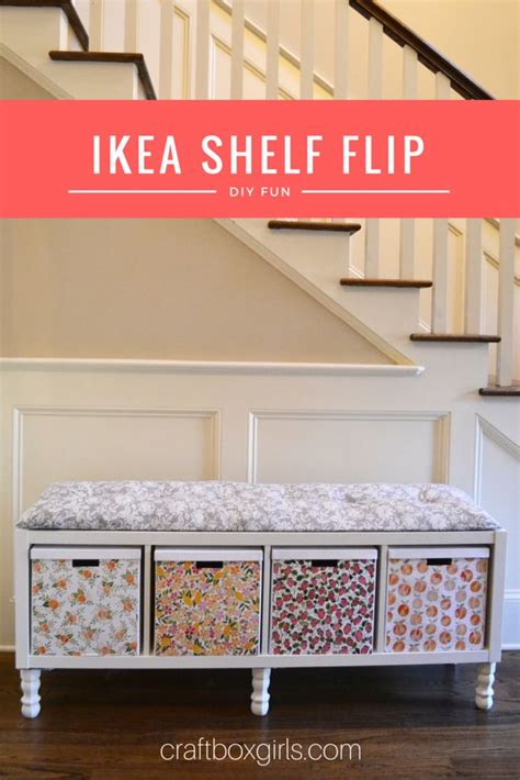 ikea bookshelf bench 25 best ideas about ikea hack bench on pinterest