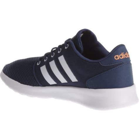 adidas qt racer adidas women s cloudfoam qt racer running shoes academy