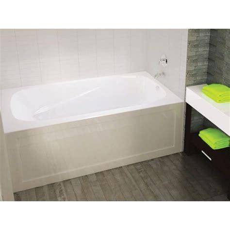 mirolin bathtub reviews mirolin pa6632l r phoenix ii skirted bath white home