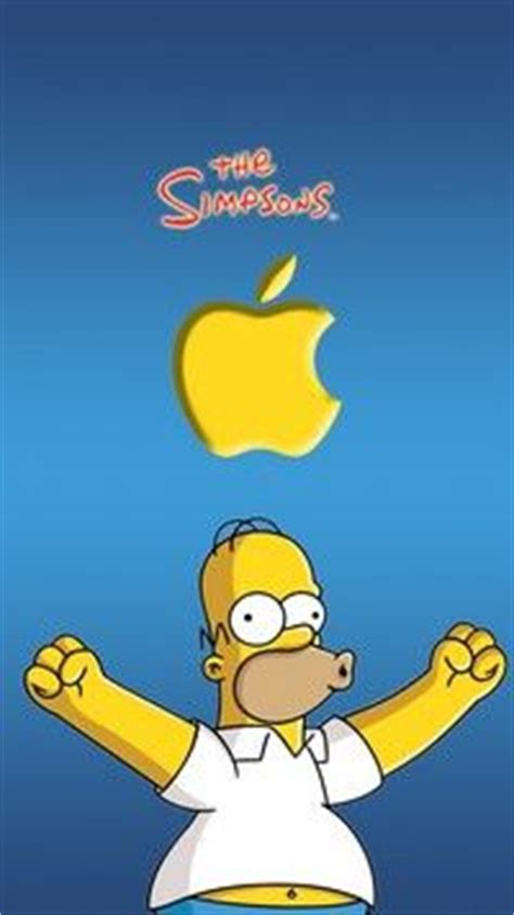 wallpaper iphone 6 simpsons iphone 6s wallpapers apple simpsons apple love