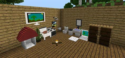 furniture mod minecraft pe mods addons