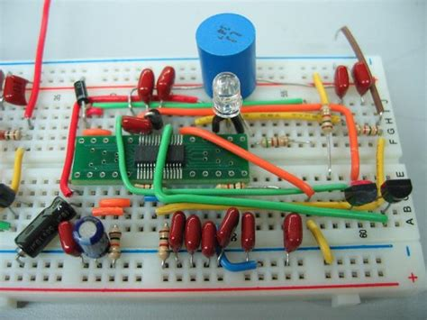 circuit to breadboard building circuits the of breadboards