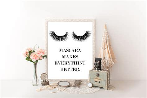 Makeup Decor prints for bathroom makeup decor makeup wall makeup canvas