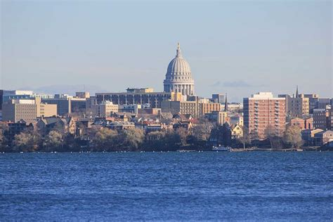 Google Map of Madison, Wisconsin, USA   Nations Online Project