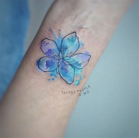 watercolor tattoo g teborg 17 best ideas about watercolor wrist on
