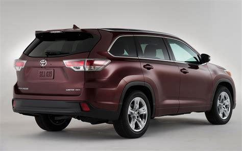 toyota new model first look 2014 toyota highlander new cars reviews