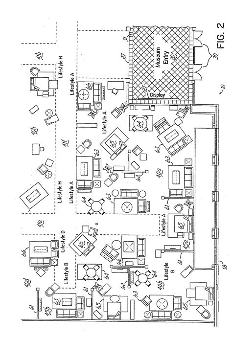 floor plan furniture store patent us20050021356 retail furniture store