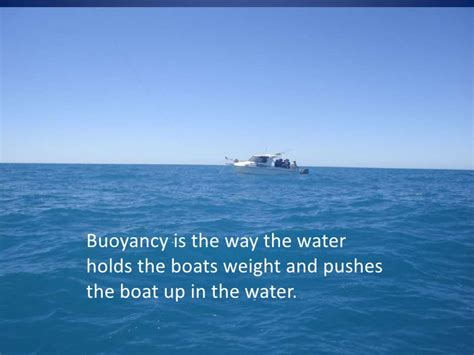 how boats float how do boats float