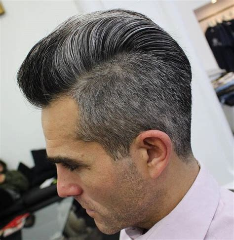 undercut hairstyles for men with gray hair 50 stylish undercut hairstyles for men to try in 2018