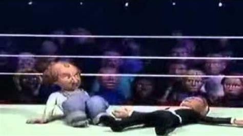 celebrity deathmatch wiki video celebrity deathmatch the three stooges vs the