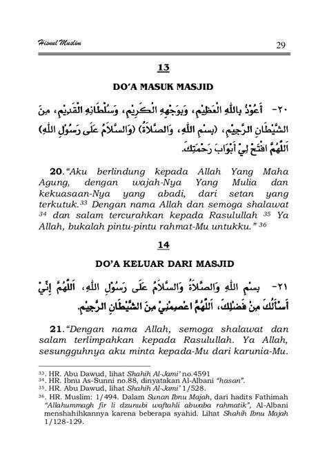 Kumpulan Doa Doa Shohih kumpulan do a al qur an dan hadits
