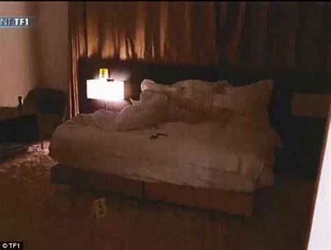 kim kardashian bed inside the kim kardashian heist crime scene daily mail